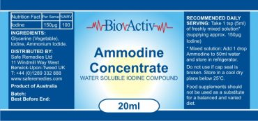 Ammodine Label