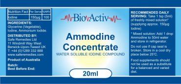 Ammodine Label
