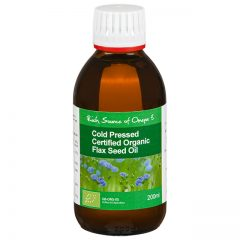 Organic Flaxseed Oil Cold Pressed EFA's