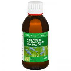Organic Flaxseed Oil Cold Pressed EFA's