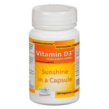High Strength Vitamin D3 5000IU