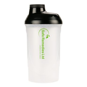 Protein Shaker with Mesh Grill