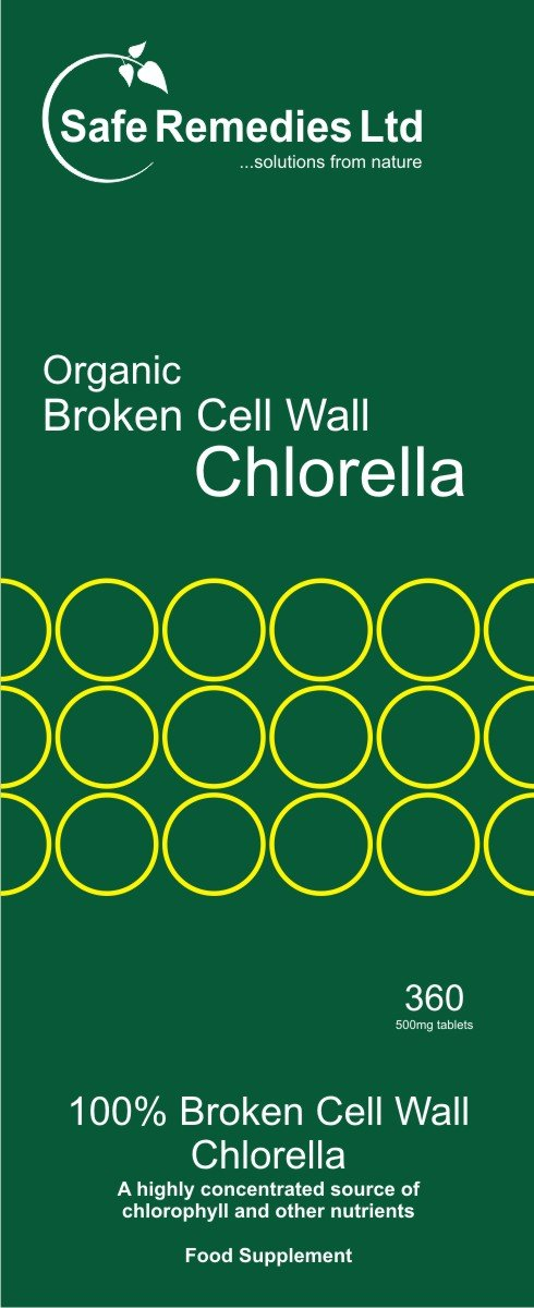 Organic Chlorella Cracked Broken Cell Wall Safe Remedies