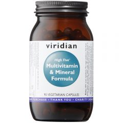 Viridian High Five Multivitamin and Mineral Formula 90 Veg Caps