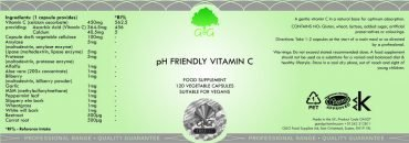 pH Friendly Vit C-label