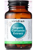 Viridian Organic Curcumin Extract Capsules